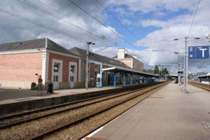 Quais de la gare SNCF de Quimper