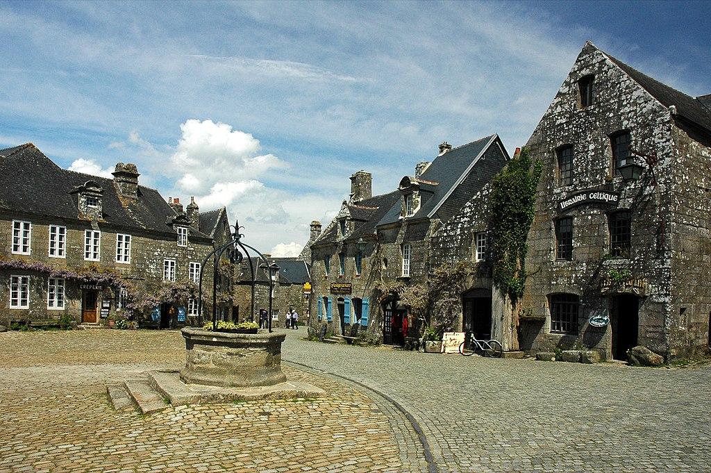 Commune de Locronan en Bretagne
